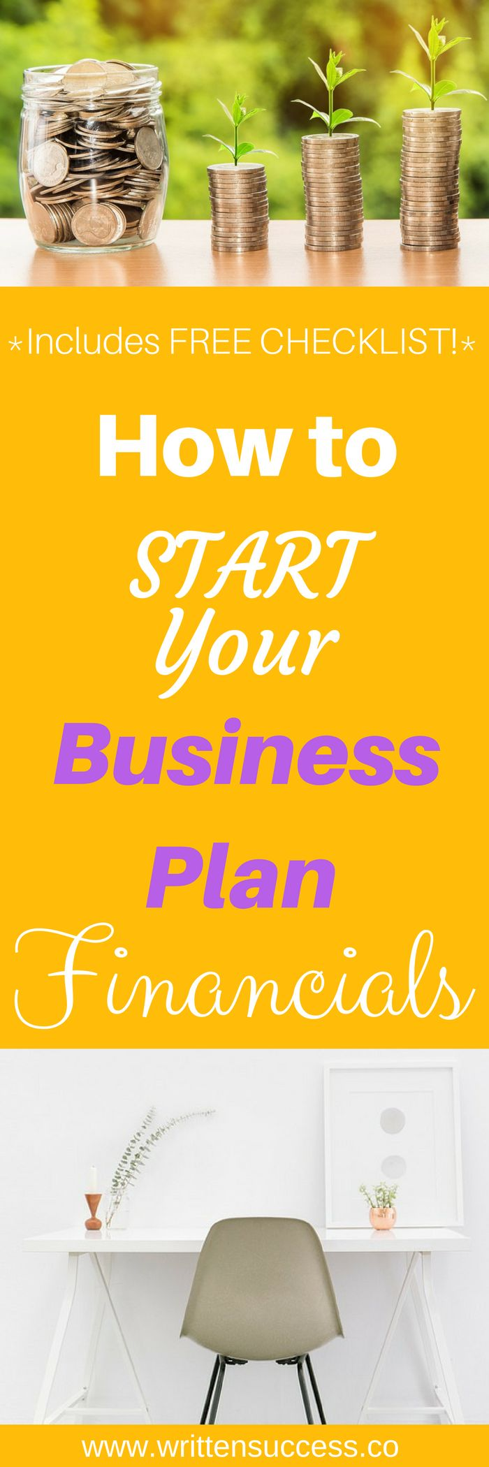 Are your business plan financials stressing you out? There's an easier way to get started! Download the free checklist to get going in the right direction!