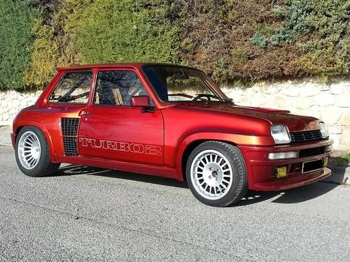 1983 - Renault R5 Turbo 2 only 26,000 km ! For Sale by Auction