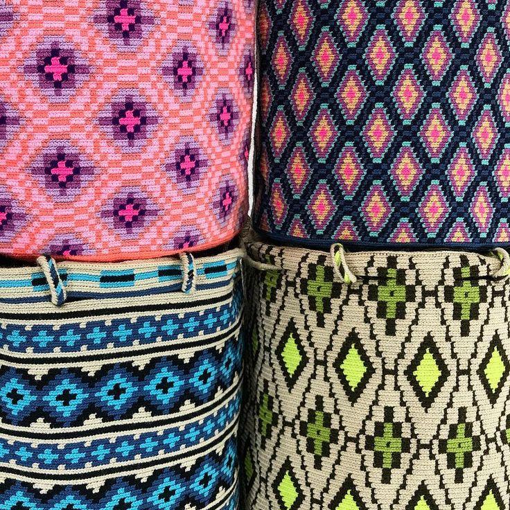 288 отметок «Нравится», 1 комментариев — Just Wayuu (@just.wayuu) в Instagram: «Great variety, amazing design equals pieces of art. Handcrafted handbags made by indigenous wayuu…»