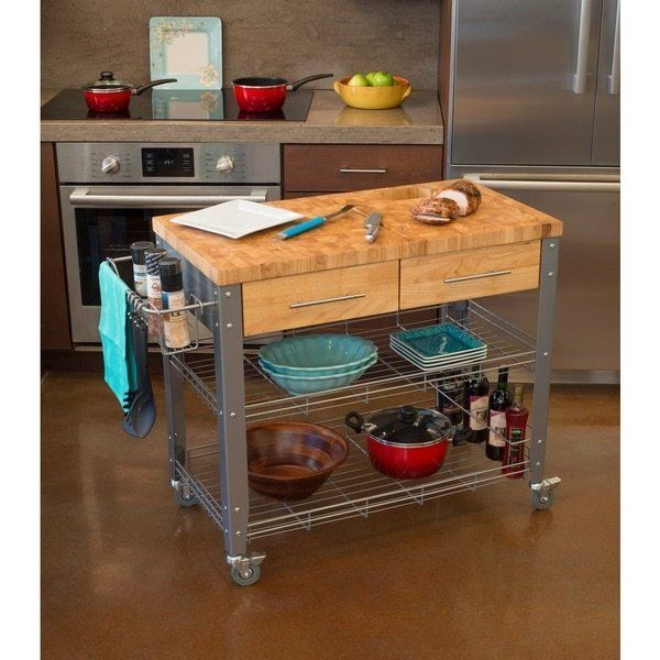 Commercial Kitchen Cart Cutting Professional Table: Best 25+ Butcher Block Island Ideas On Pinterest