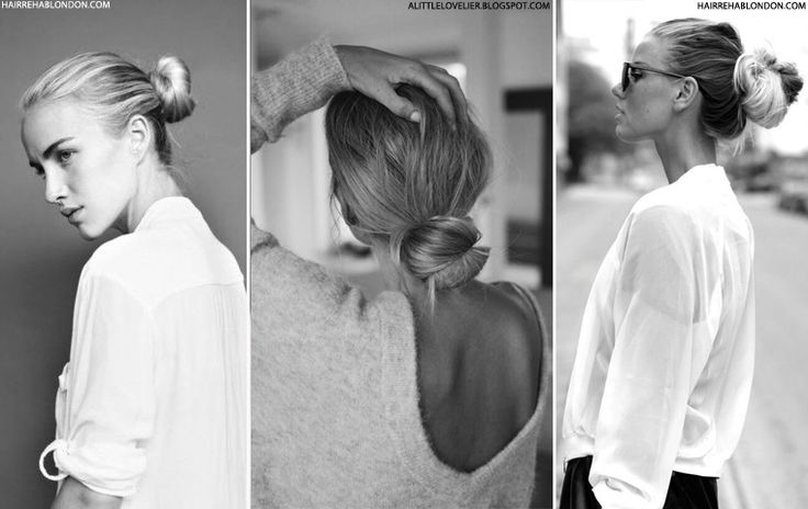 How To Style The French Bun | sheerluxe.com