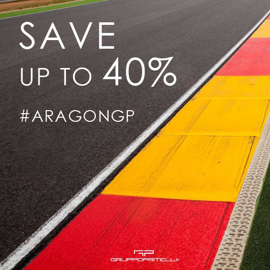 Save up to 40% on the Official Merchandise. The discounts will end the 26th September 2017 #MotoGP #AragonGP #Hoodie #Cap #Apparel #T-shirt