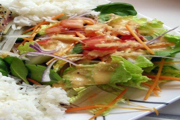 Japanese Steakhouse Ginger Salad Dressing CopyCat Shogun Steak. Photo by Teddy's Mommy
