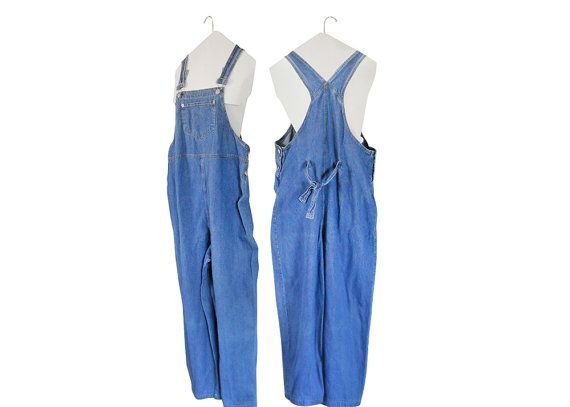 Vintage Maternity Clothes Women Denim Overalls Women by #ShineBrightVintage