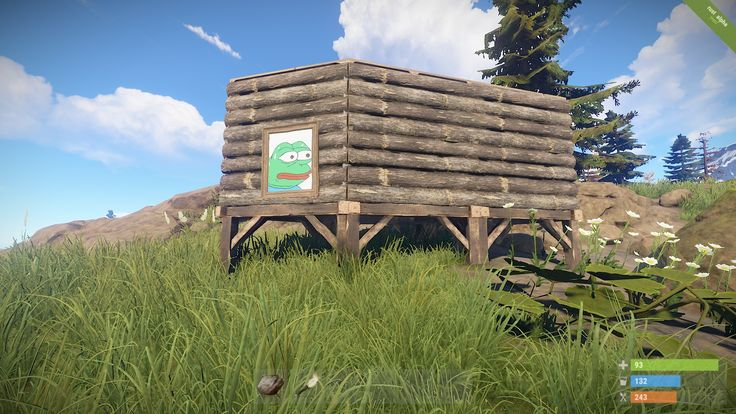 Playing Rust when suddenly...