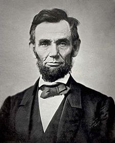 Abraham Lincoln was taken from us at a critical time in American history. He was only 56 years old.