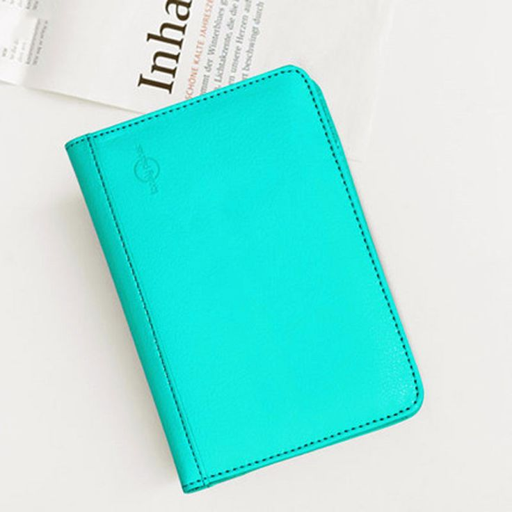 RFID Blocking Passport Cover And Credit Card Wallet - Travel Safe