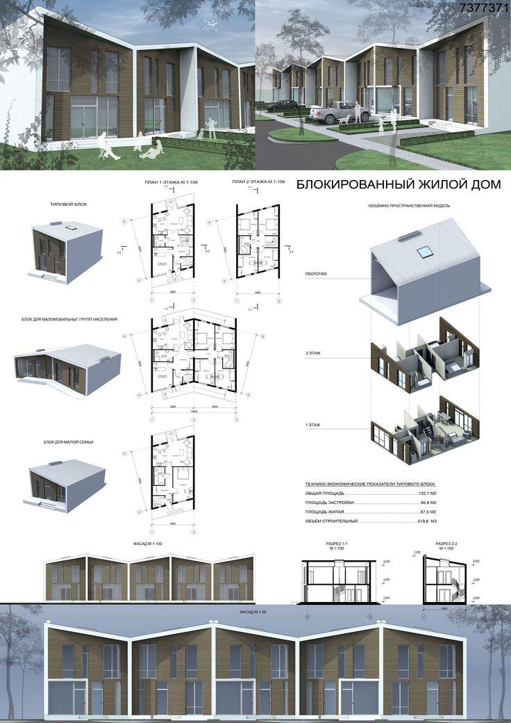блокированные жилые дома проекты - Поиск в Google