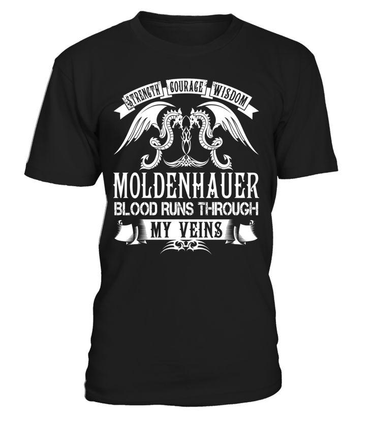 MOLDENHAUER Blood Runs Through My Veins #Moldenhauer