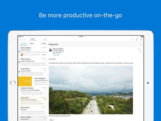 Microsoft Outlook - email and calendar by Microsoft Corporation