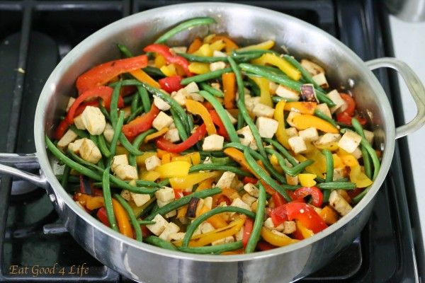 Eat Good 4 Life Dirty Thai fried quinoa