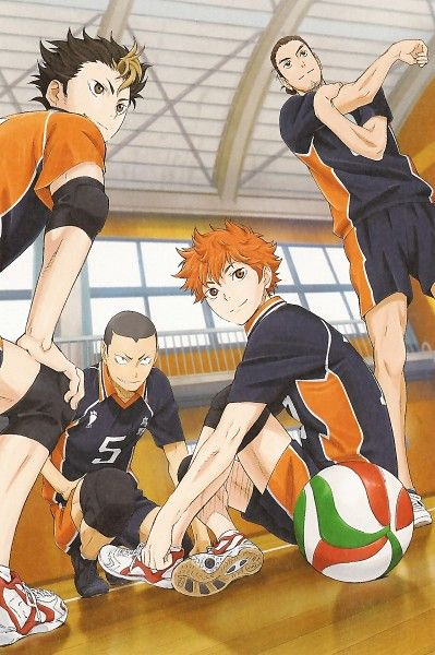 Haikyuu has got to be one of the best sports anime in 2013-2014. I love the comedy and it's still serious at the same time. Also the volleyball moves are normal and not super overpowering. It's mostly about the time you put into practice, how much fun you have, and relationship with teammates. The character development is a aspect that made me very happy because of how well done it is.
