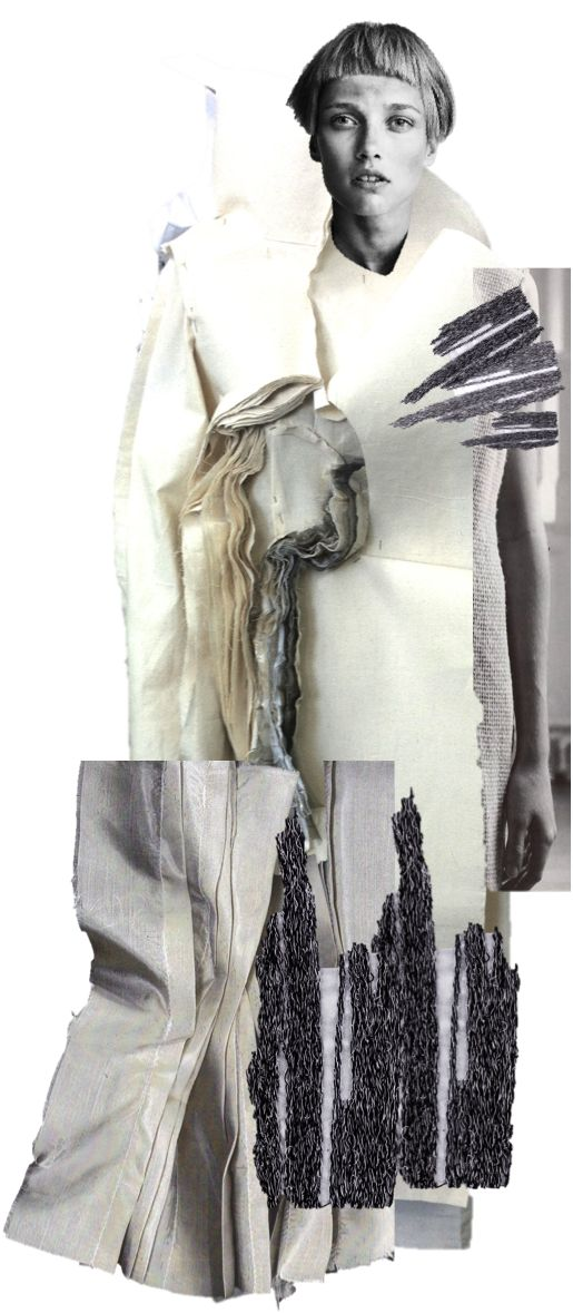 Fashion Illustrative Collage