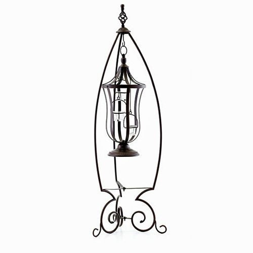 Outdoor Hanging Lanterns With Stand: Glorious Gift Sale: GARDEN AMBIANCE LANTERN AND STAND