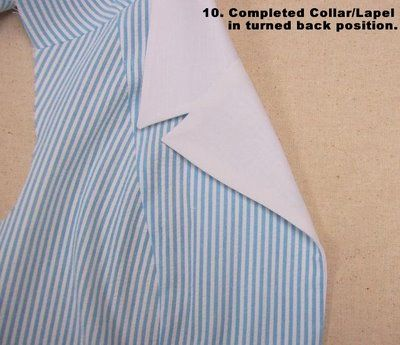 Off The Cuff ~Sewing Style~: December 2006 Lapel Collar tutorial.