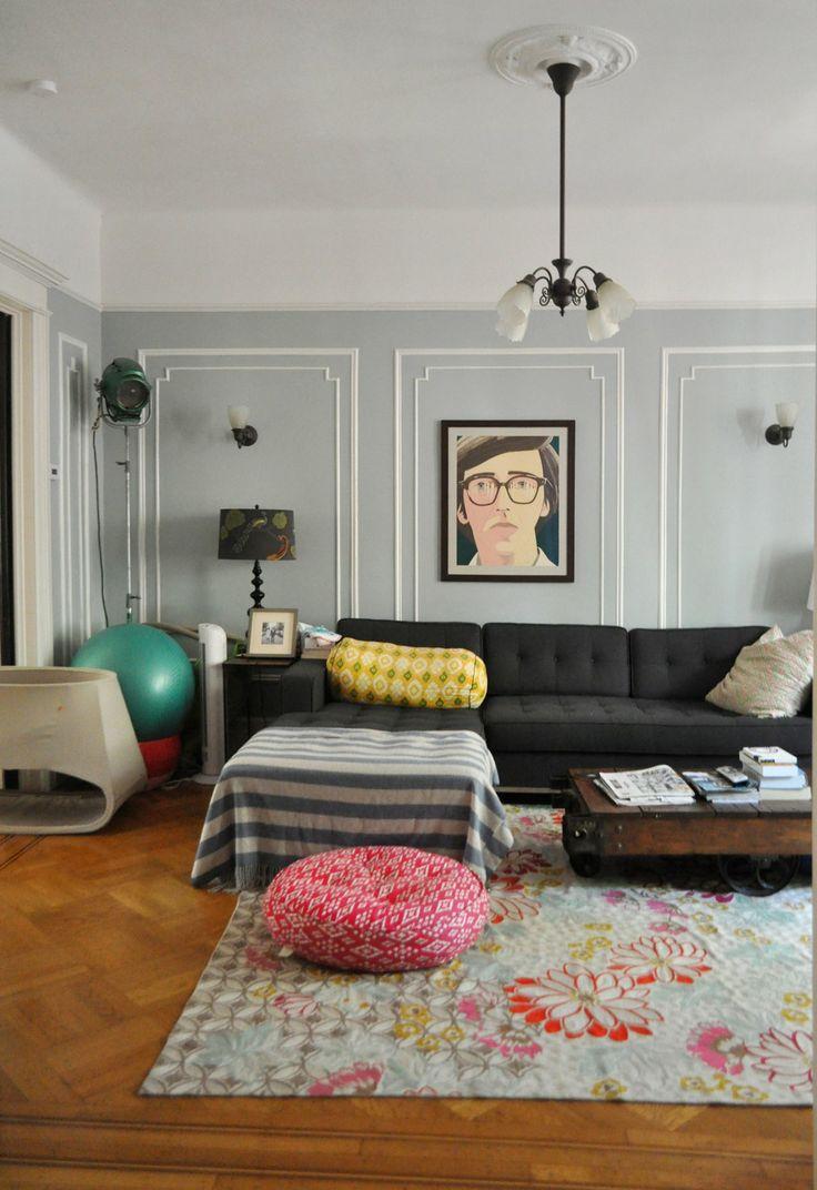 55 best livingroom images on pinterest living room ideas living emma mike s whimsical home in brooklyn