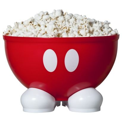 Mickey Popcorn Bowl.. I've seen these at target!