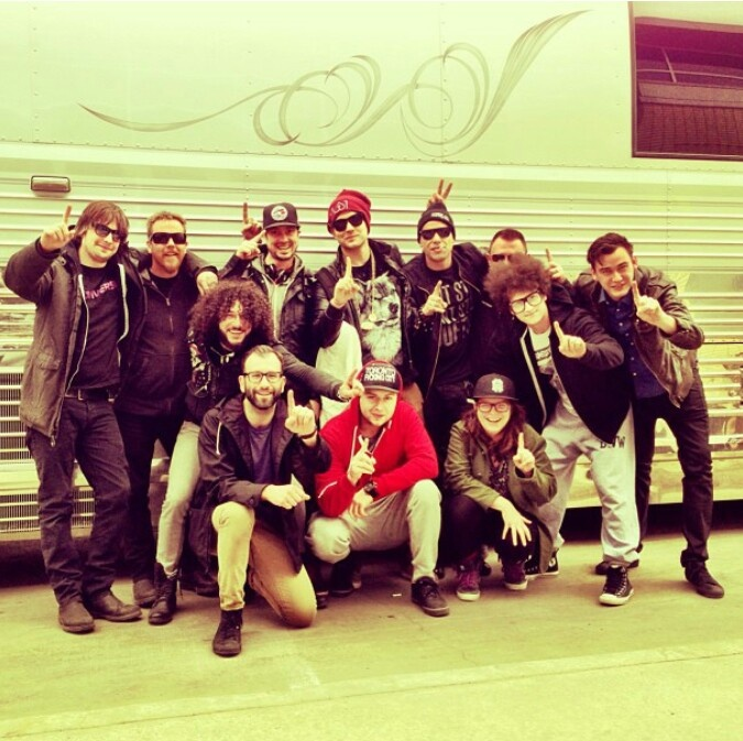 Down With Webster after the tour