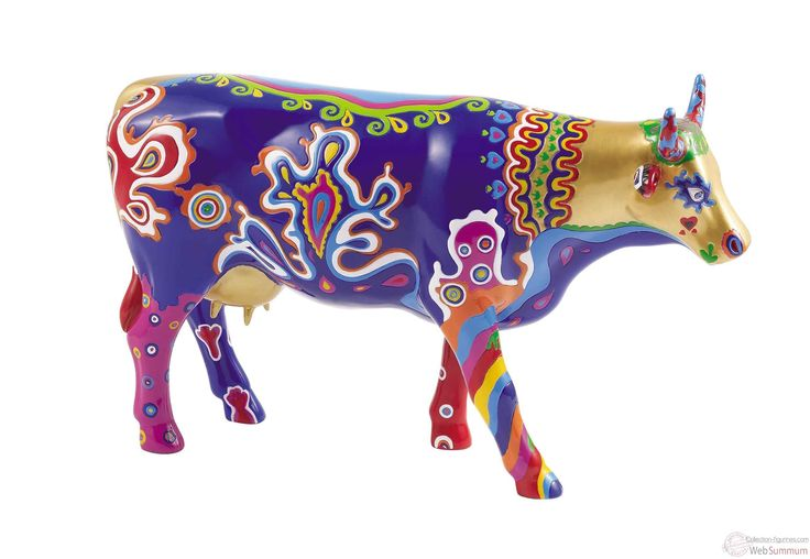 Cow Parade Figurines 2000 | Vache Cow Parade Beauty Cow GM46481