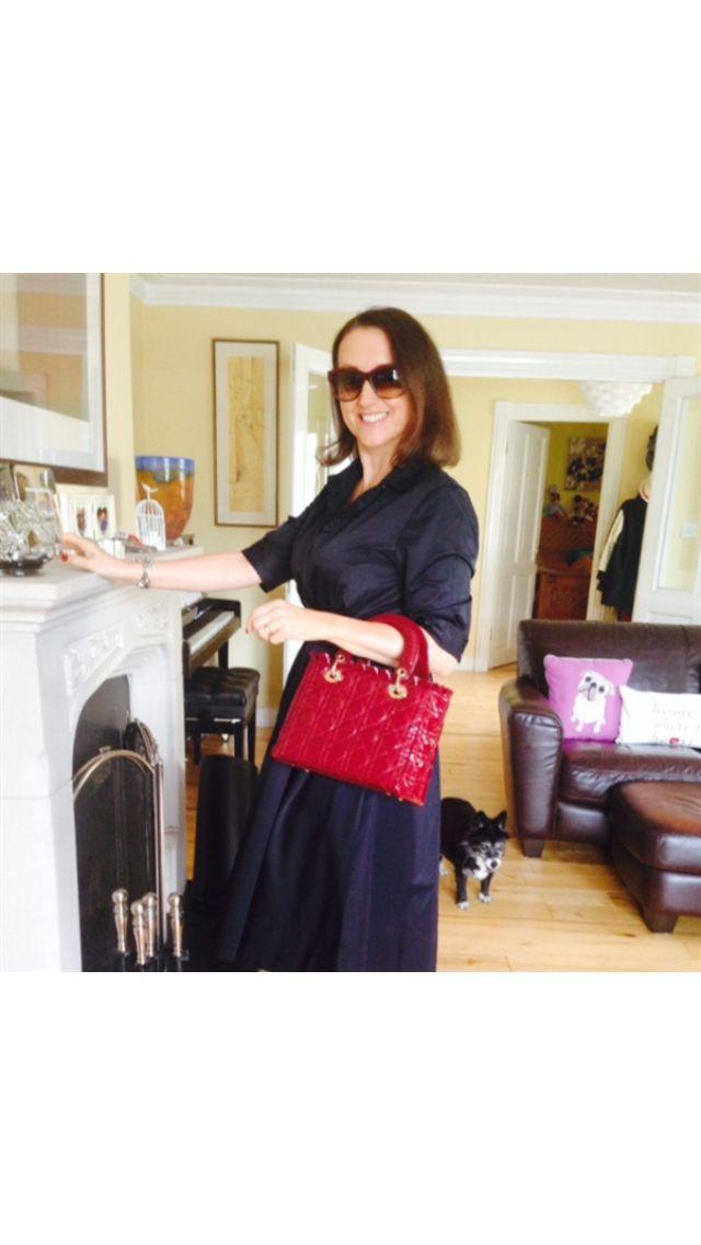 Small wine handbag