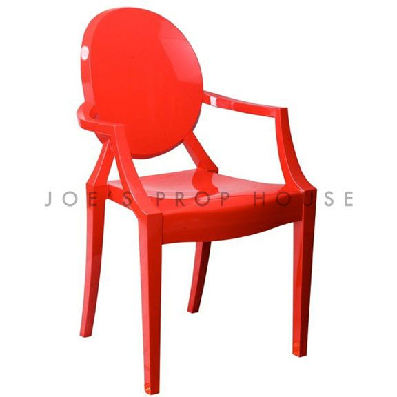 Chaise Ghost Rouge