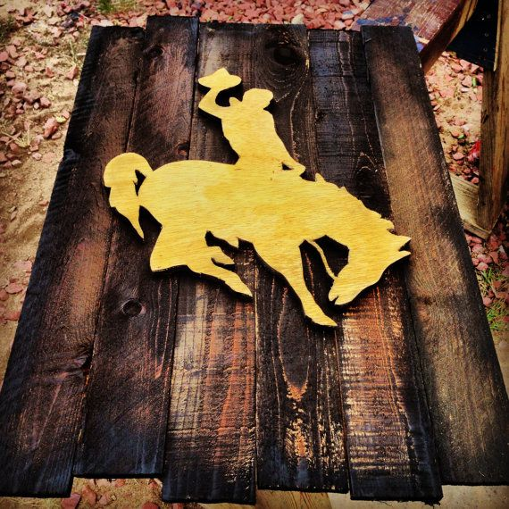 University Of Wyoming Wood Sign By BowersSplinterWorks On Etsy Part 64