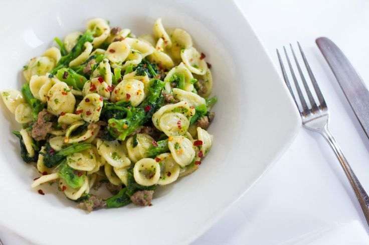 Orecchiette Broccoli e Salsiccia