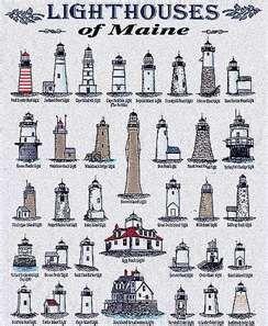 Maine Lighthouses. More than 60 lighthouses dot the Maine coast .