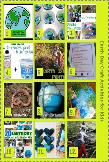 12 Earth Day Craft Activities for Kids