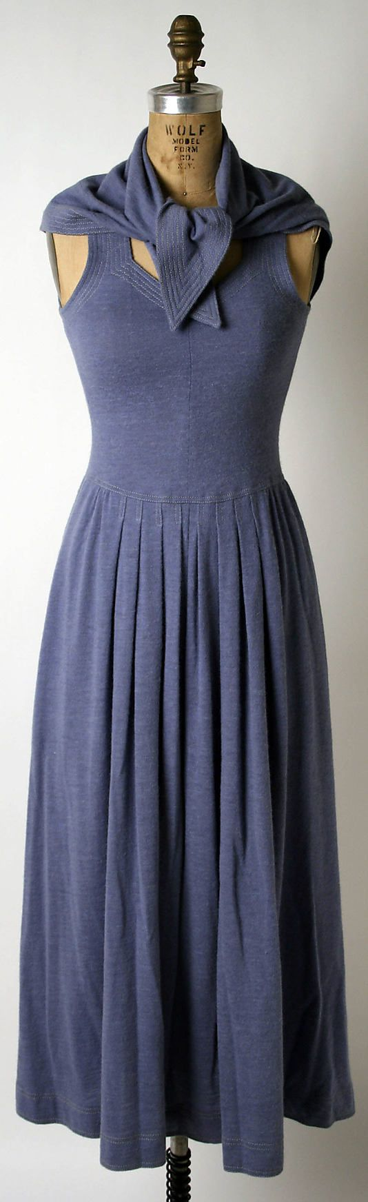 Ensemble  Jean Muir (British, 1928–1995)  Date: spring/summer 1974 Culture: British Medium: wool
