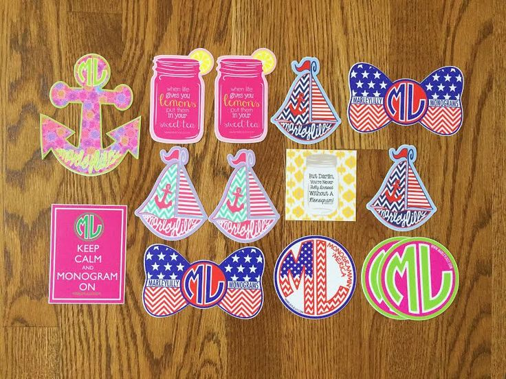 Michaela's Corner: Sticker Collection + How to Get Free Preppy Stickers