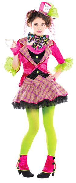 Be mad as a hatter with this Mad Hatter costume for teenagers from our range of Alice in Wonderland fancy dress. Perfect for World Book Day or a Mad Hatter's tea party.