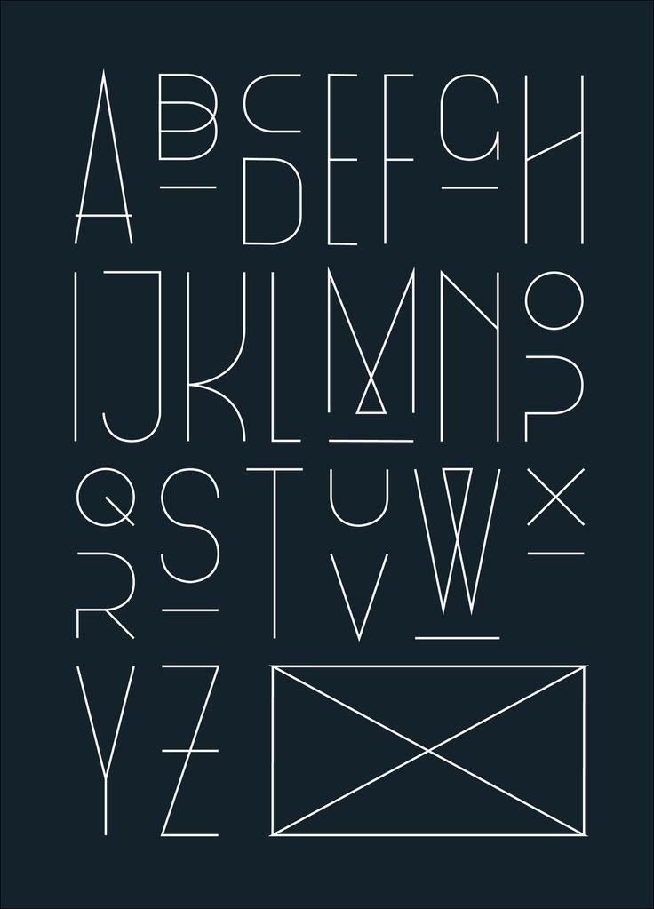 #black and white #alphabet