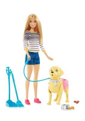 Mattel Barbie Walk & Potty Pup - Assorted - No Size