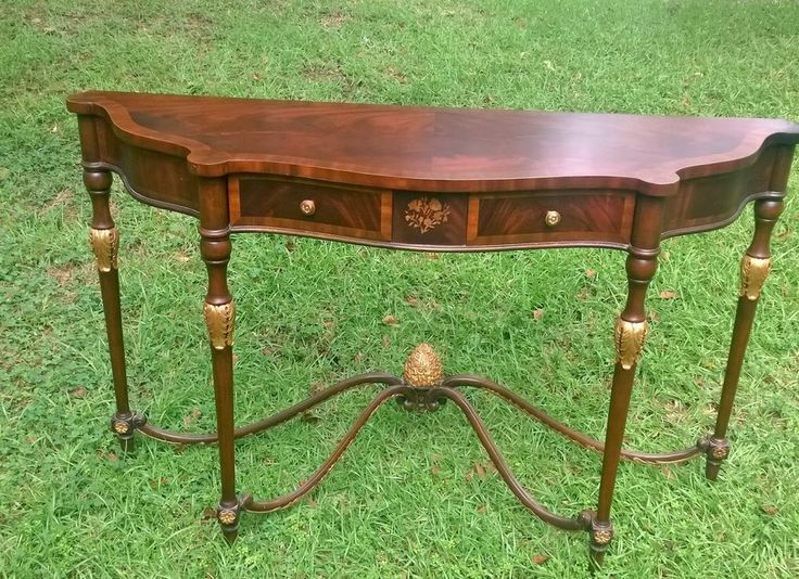 Maitland Smith Georgian Console Table #MaitlandSmith #Traditional