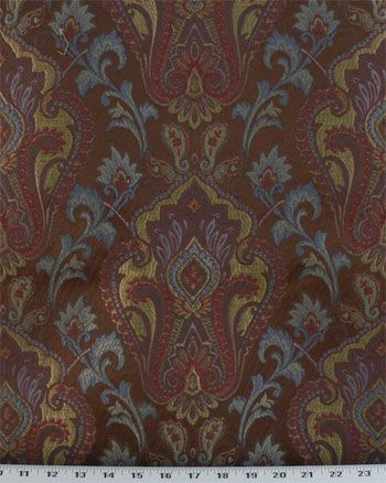 Yaping Rust | Online Discount Drapery Fabrics and Upholstery Fabric Superstore!