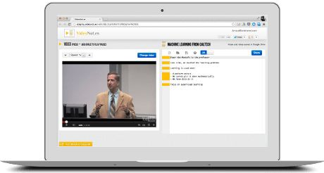 VideoNot.es: Great for taking notes during a flipped lesson