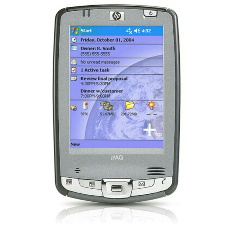 HP iPaq 2110 Pocket PC