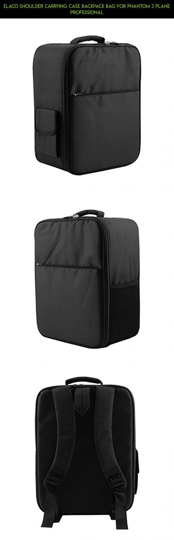 Elaco Shoulder Carrying Case Backpack Bag For Phantom 3 Plane Professional #gadgets #racing #parts #350 #tech #fpv #shopping #3 #dji #camera #kit #standard #products #plans #phantom #technology #drone