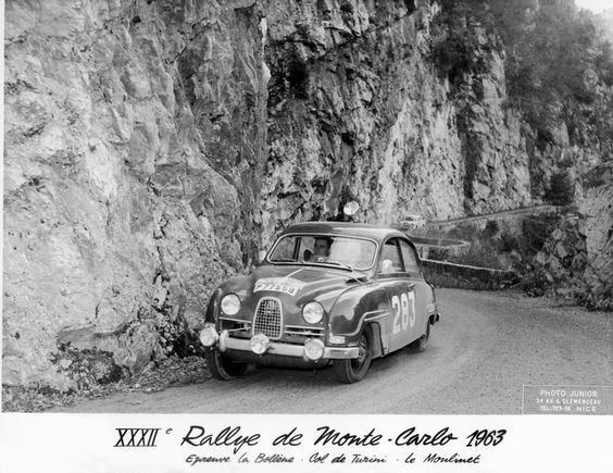 Saab 96 #283 - 1st Monte Carlo 1963: