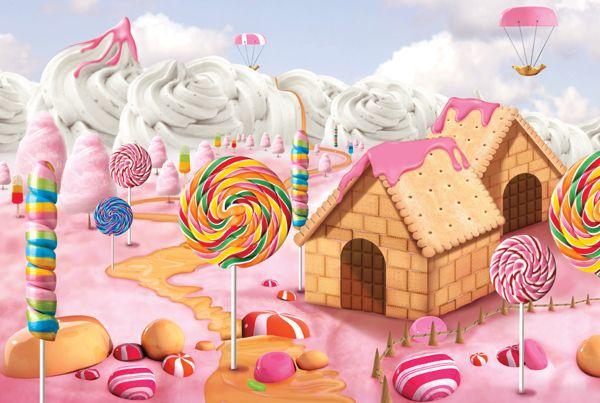 candy landscape - Google Search