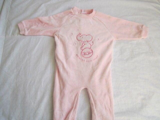 pagliaccetto in cotone morbido rosa eta 6 mesi