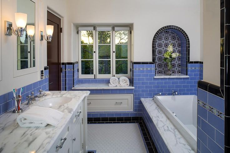 66 Best Spanish Revival Bath Details Images On Pinterest