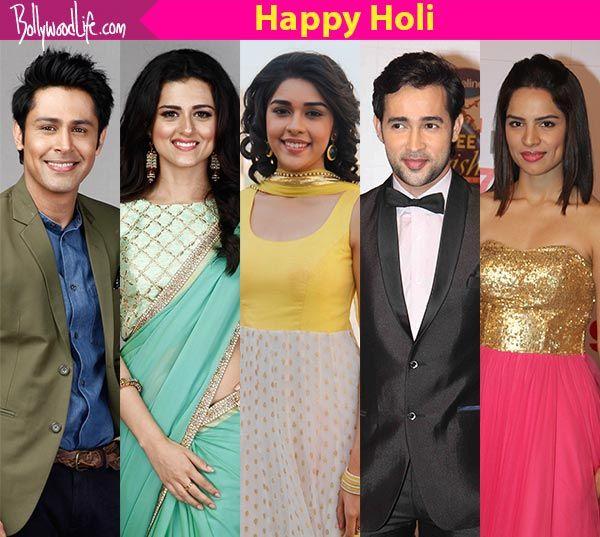 Kumkum Bhagya's Shikha Singh, Ssudeep Sahir, Eisha Singh – TV celebs share their Holi memories #FansnStars