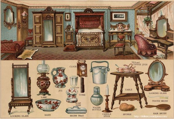 203 best images about paper model furniture on pinterest for Victorian furniture plans