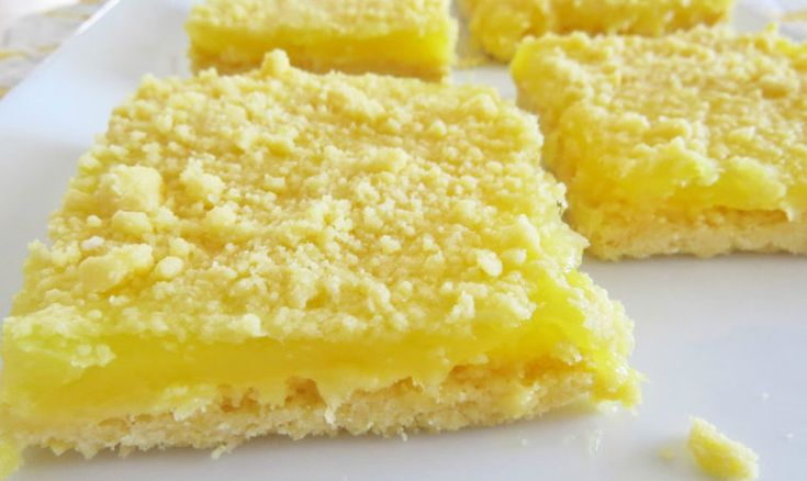 Ingredients       1 box yellow cake mix   1 stick unsalted butter (1/2 cup) softened to room temperature   1 can lemon pie filling          Instructions         Preheat oven to 350F degrees.     Spray 9 x 13 baking dish with nonstick cooking