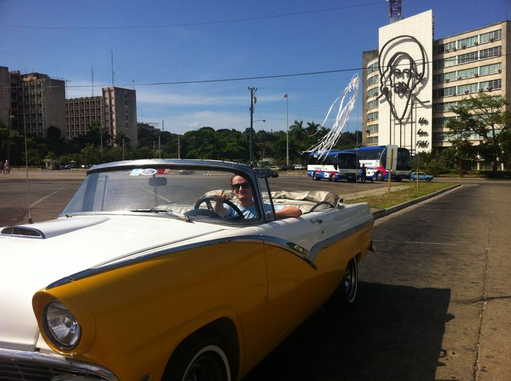 Discovering Havana in a convertible oldie a great Havana Tour Company experience!