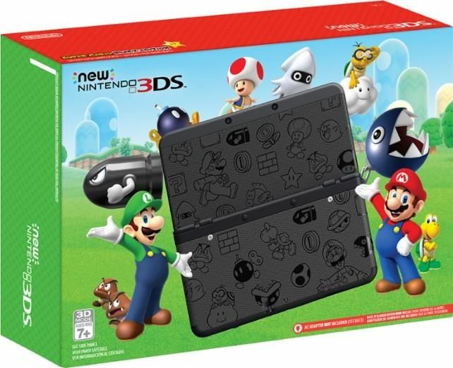 $99.99 New Nintendo 3DS Bundle in Black or White at Target / Toysrus LIVE