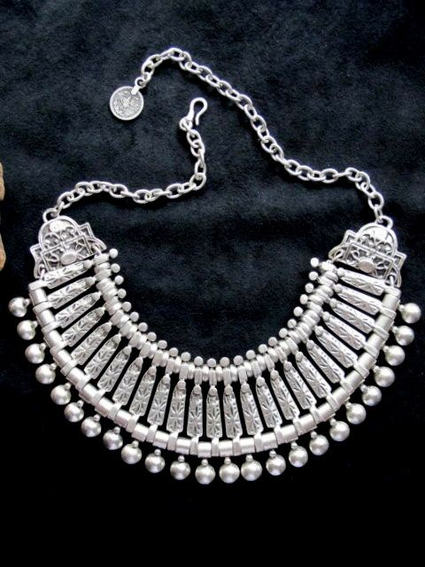Turkish Jewelry - Handcrafted Cleopatra Tribal Necklace