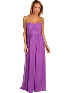 Petite Amber Cascade Gown by BCBGMAXAZRIA: Gowns Dresses, Cascading Gowns, Petite Cascading, Cascading Dark, Petite Amber, Bcbg Dresses, Iris Purple, Amber Cascading, Dark Iris